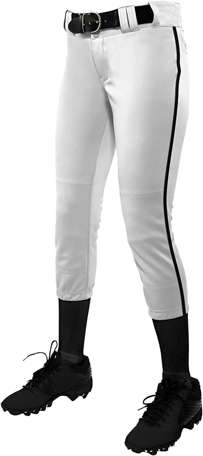 CHAMPRO Boys' Tournament Low-Rise Softball Pants with Braid