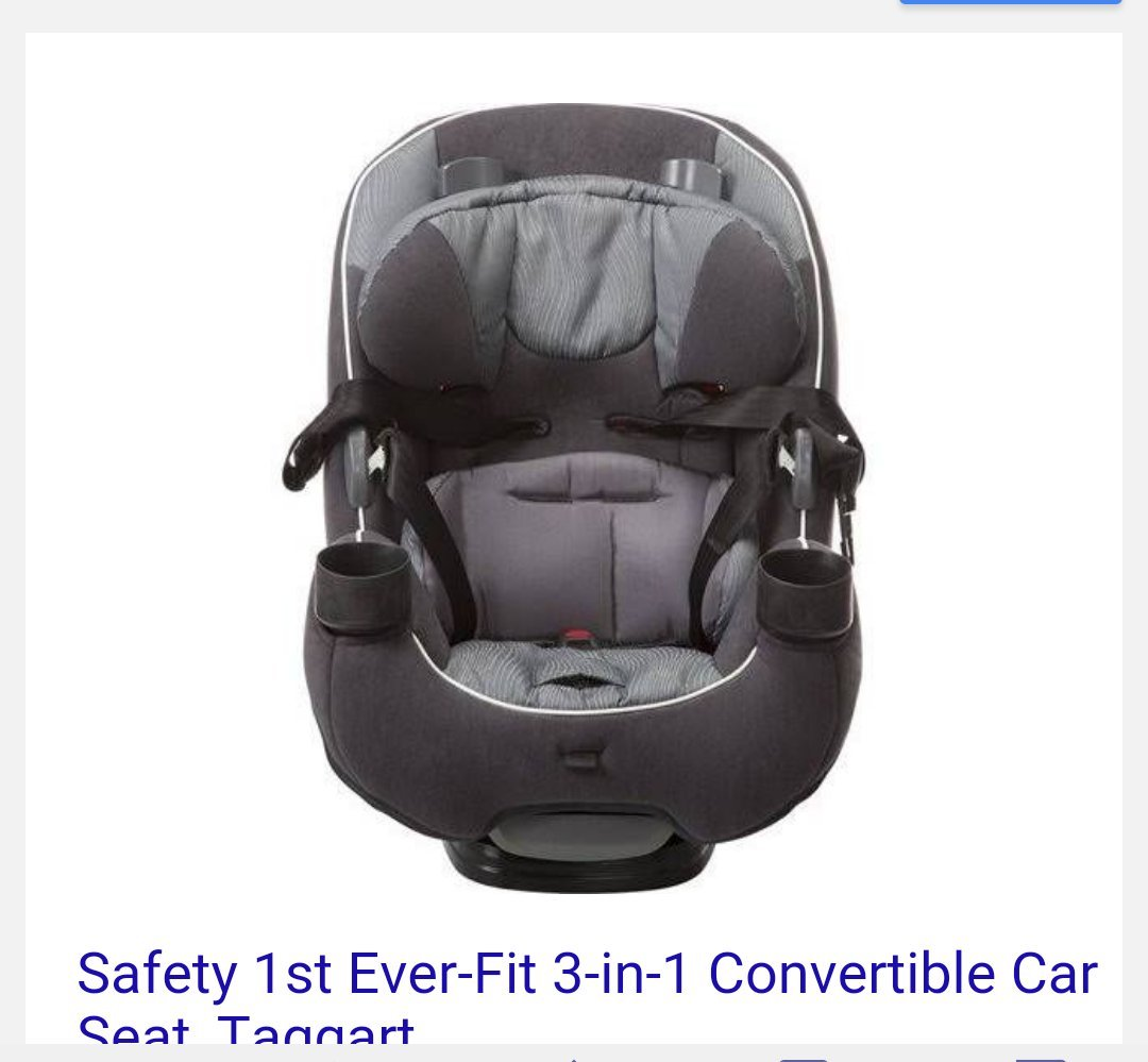 Amazon Safety 1st Ever Fit 3 In1 Convertible Car Seat Baby