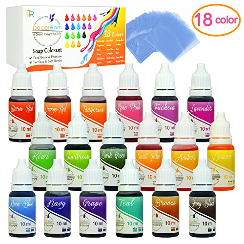 Soap Colorant 18 Color Set