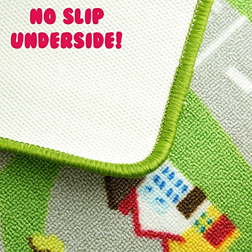 Kids Play Car Rug - Community Carpet Mat Large, 78'' x 39'' by Play Platoon (Image #2)