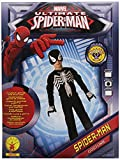 Rubie's Official Spiderman Costume - Medium, 5-6 Years, Black
