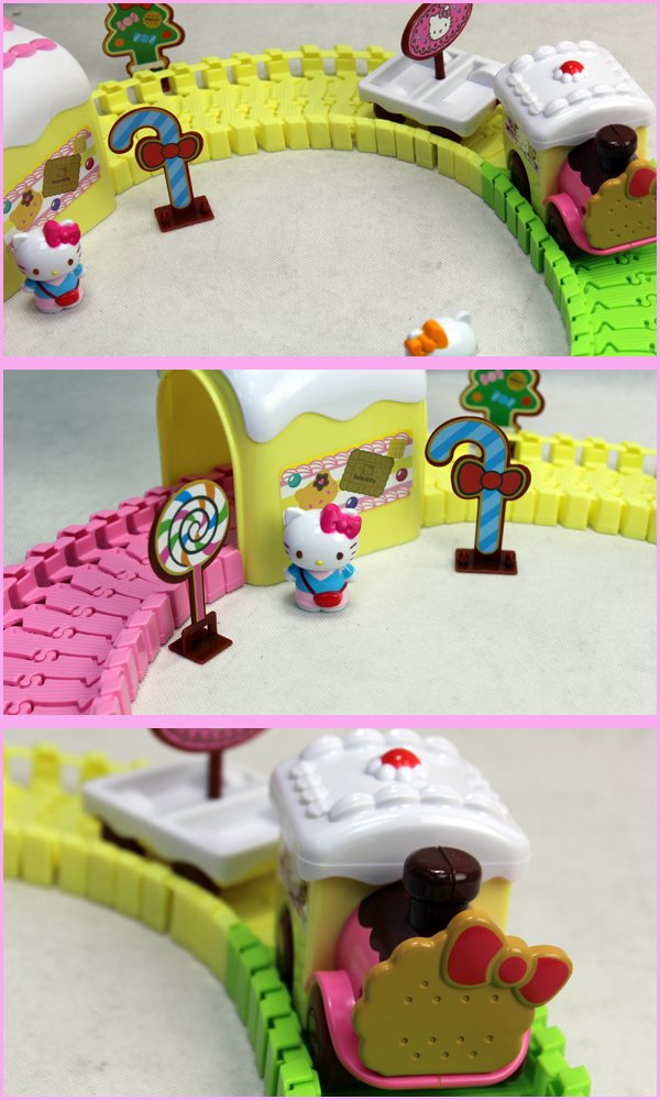 Hello Kitty Cake Train Set Toho HK290503C