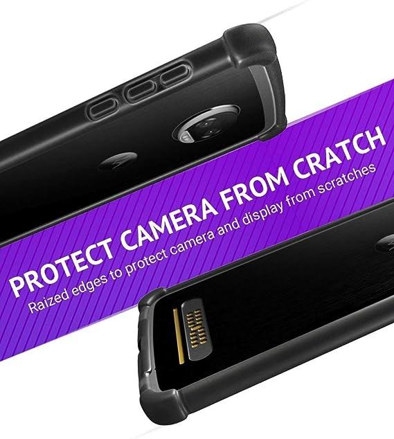 Casewe - Funda para Motorola Moto Z2 Play/Bumper Protector ...