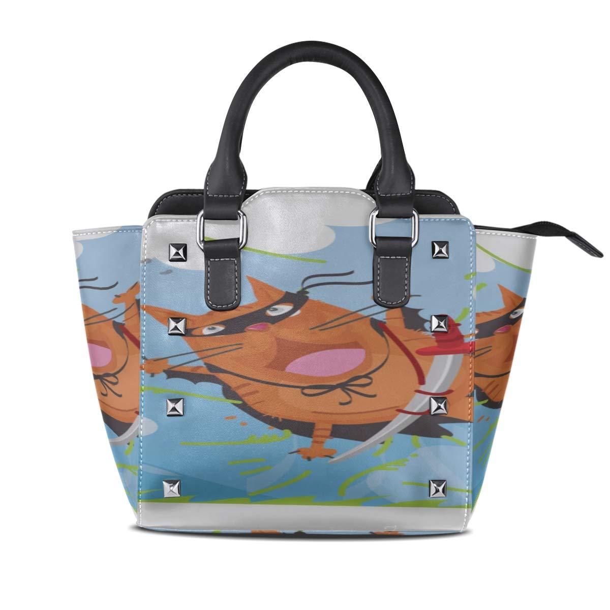 Crossbody Evening Bags For Women Brave Red Ninja Cat Custom ...
