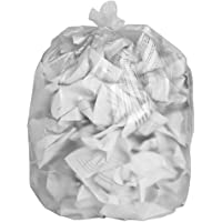 20 EcoBag Clear Recycling Bags 100L 88 Gauge