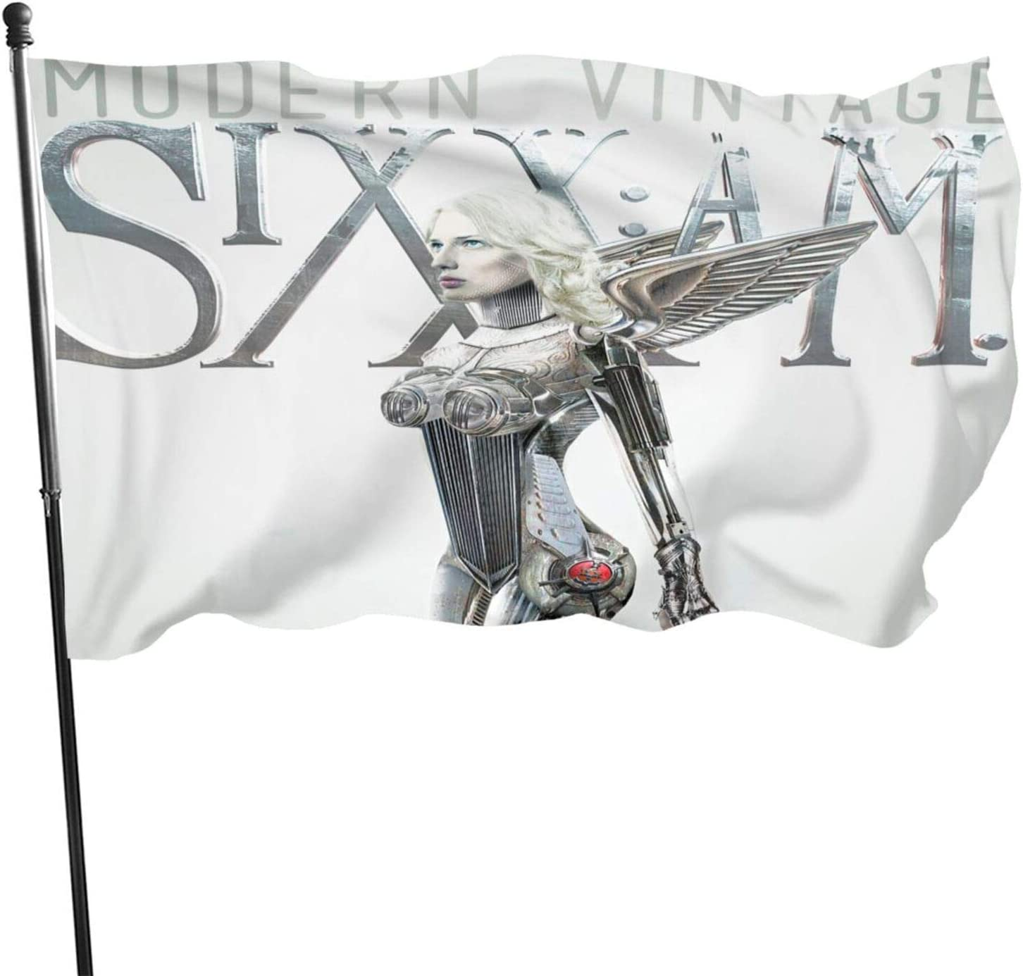 Sixx Am Modern Vintage Garden Flag Personalized Decoration Banner Indoor Outdoor Courtyard Sign Farm Party Activities 3 X 5 Ft