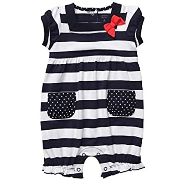 6503355a7ba6 Image Unavailable. Image not available for. Color  Carter s Baby Girls  Cotton Knit Bubble Romper ...