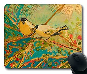 """A Morning Toast To Romance Personalized Custom Rectangle Mouse Pad Oblong Gaming Mousepad in 220mm*180mm*3mm (9""""*7"""") -930021"""