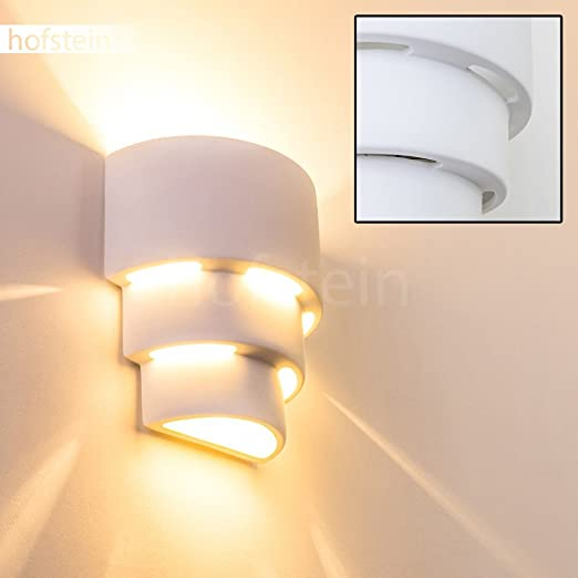 wall lighting effects. Indoor White Wall Light With Great Shadow Effects, Modern Stylish Looks Decorative Up Lighting Effects