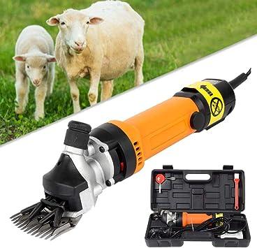 850W Electric 6 Speed Sheep Goat Shears Farm Animal Grooming Shearing Clipper