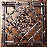 Tin Ceiling tile faux finishes Archaic copper PL09 pack of 10pcs