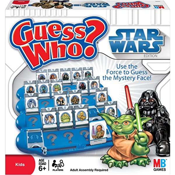 Amazon Com Milton Bradley Guess Who Star Wars Toys Games