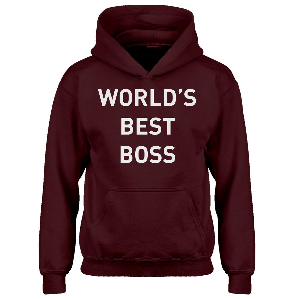 Indica Plateau Youth Worlds Best Boss Kids Hoodie