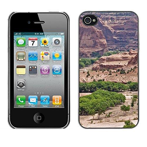 Premio Sottile Slim Cassa Custodia Case Cover Shell // F00028473 canyon vert // Apple iPhone 4 4S 4G