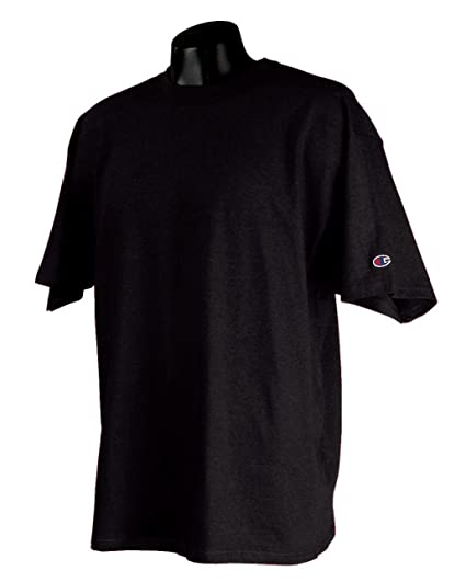 e6b5d1b68fa7 Champion Men's Full Athletic Cut Heritage Jersey T-Shirt, black, Small