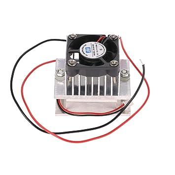 KKmoon Kit de Bricolaje Termoeléctrico Peltier Refrigerador ...