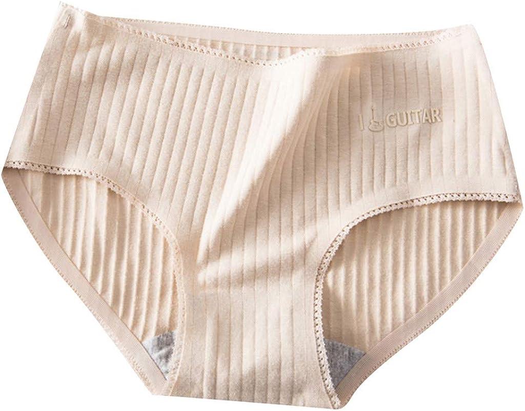 Anzermix Culottes Femme Invisible sans Couture Slips Soie Glac/ée Lot de 6