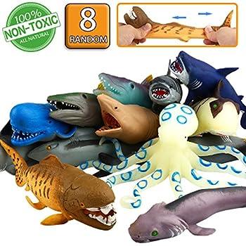 Amazon.com: Wild Republic Shark Polybag, Educational Toys