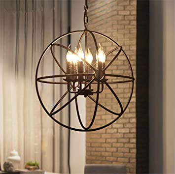 DKZ Iluminación de Interiores Lámparas de araña Vintage ...