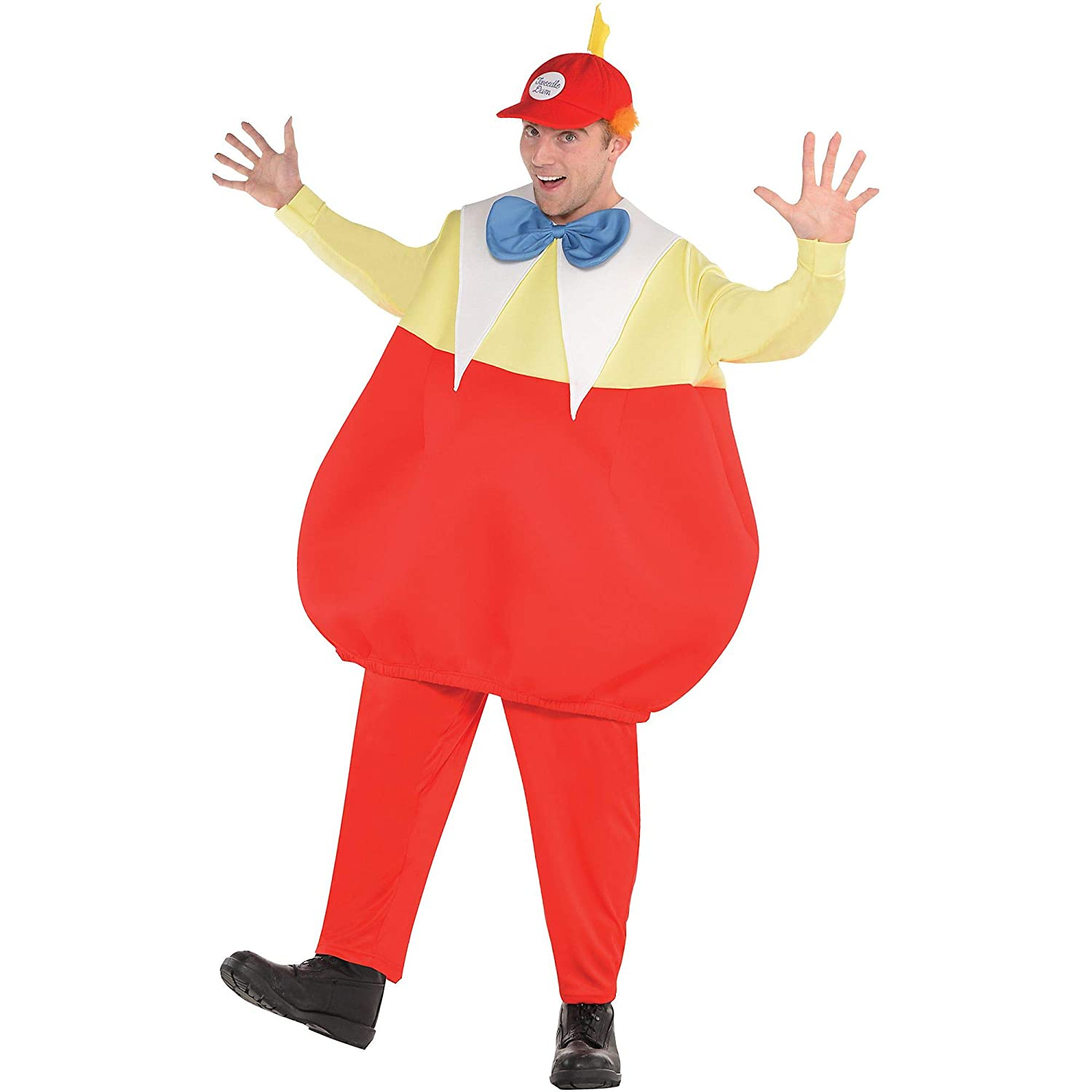 SUIT YOURSELF Tweedledee \u0026 Tweedledum Halloween Costume for Men, Alice in  Wonderland, Plus Size, with Accessories