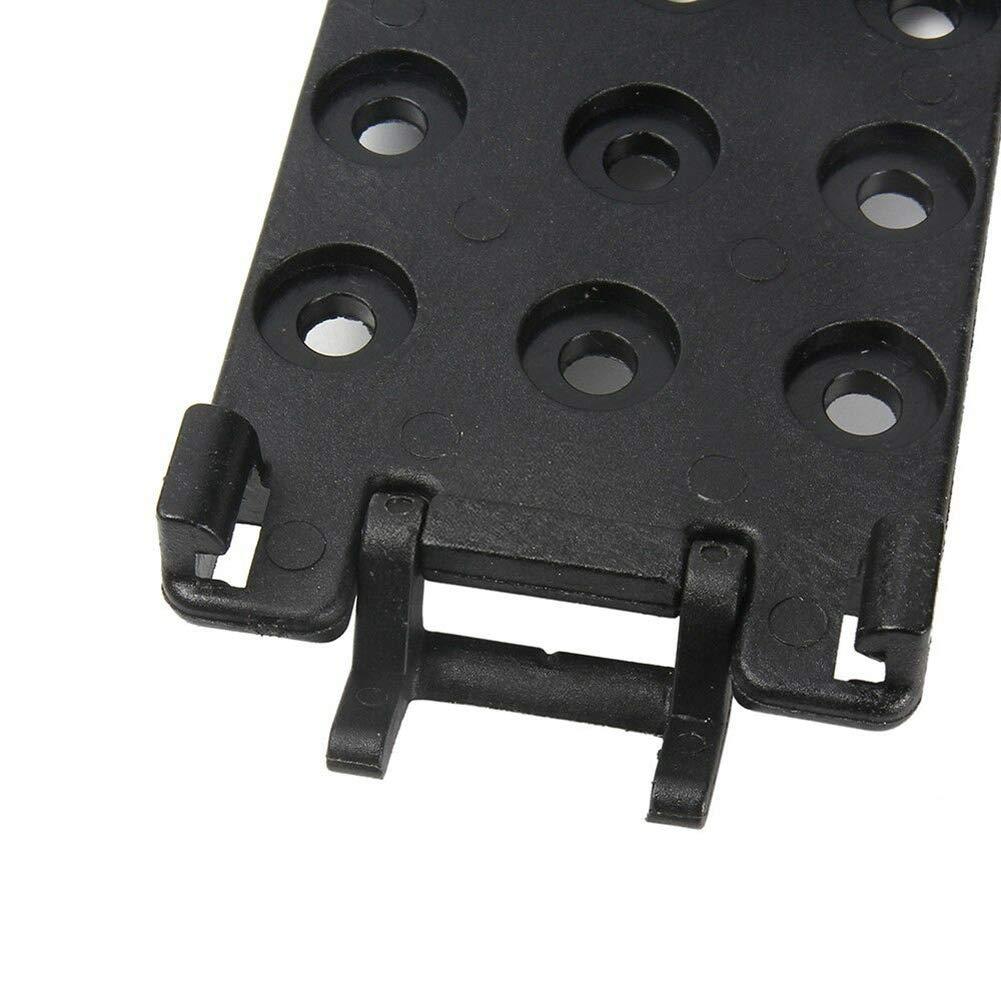 Alaojie 2pcs Multifunctional Waist Clip Belt Sheath Scabbard Clamp Kit Gear for K Sheath