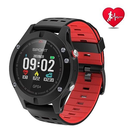 APHYC Reloj Deportivo con Bluetooth, altitud, termómetro Integrado ...