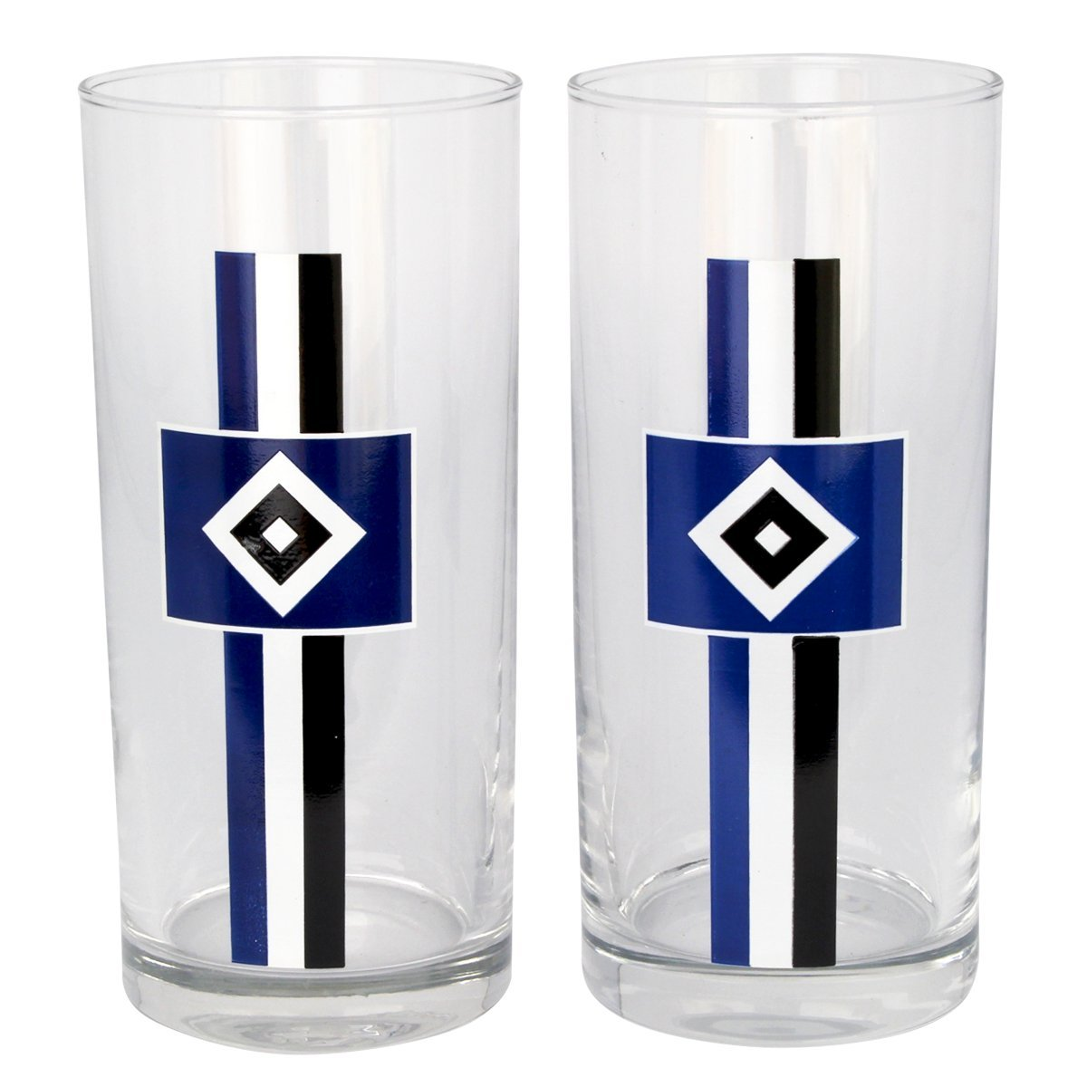 Hamburger SV Drinks Glass Set of 2 HSV