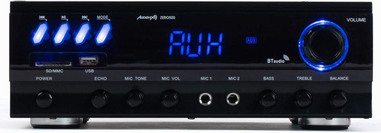 Audibax Zero 500 Amplificador HiFi Bluetooth Karaoke con Entrada ...