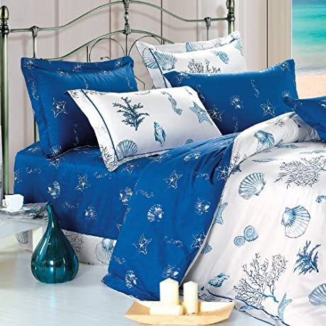 North Home Atlantis 100 Cotton Sheet Set Twin By North Home