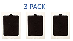 3 Pack PAULTRA Replacment for Frigidaire PAULTRA, SCPUREAIR2PK, Electrolux EAFCBF Refrigerator Air Filter