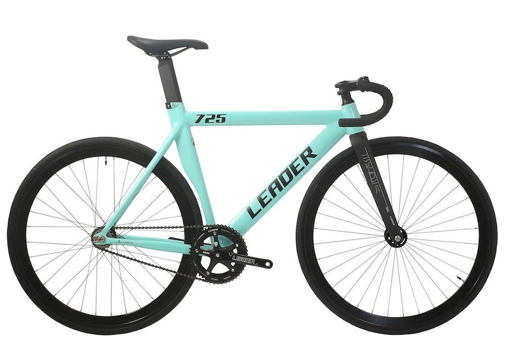 LEADER BIKES リーダーバイク 725TR 2017 Complete Bike コンプリートバイク 完成車 B01L70GMXK S 163cm~173cm|シーフォームグリーン(SFG) シーフォームグリーン(SFG) S 163cm~173cm
