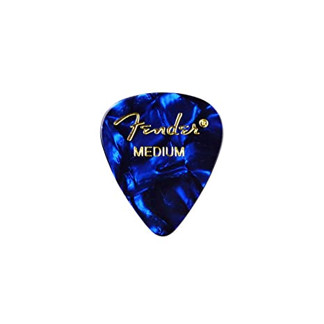 Azul púa de guitarra Pin de solapa: Amazon.es: Instrumentos musicales