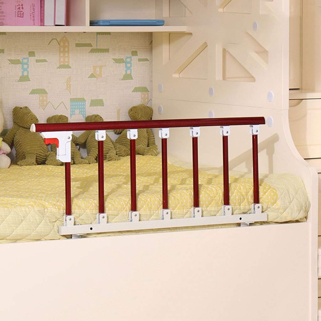 WWL 高齢者のための木製の障壁のベビーベッドの柵の大人のベッドの折る安全バーのベッド (Size : D-97x40cm) D-97x40cm  B07V734XFF