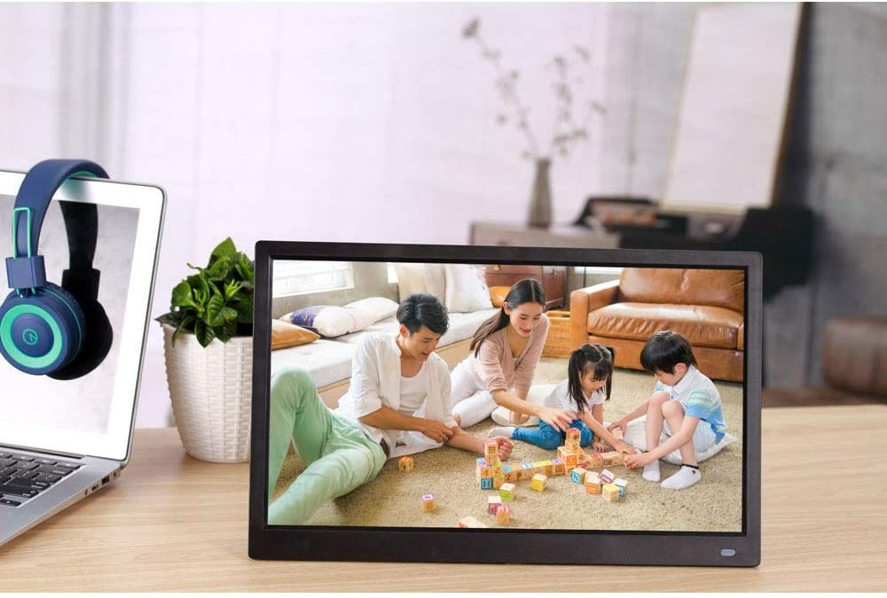 MAODATOU Digital Photo Frame 10 Inch Digital Picture Frame 1280800 Pixels High Resolution High Resolution LED Screen USB and SD Card Slots and Remote Control with 720P High Resolution