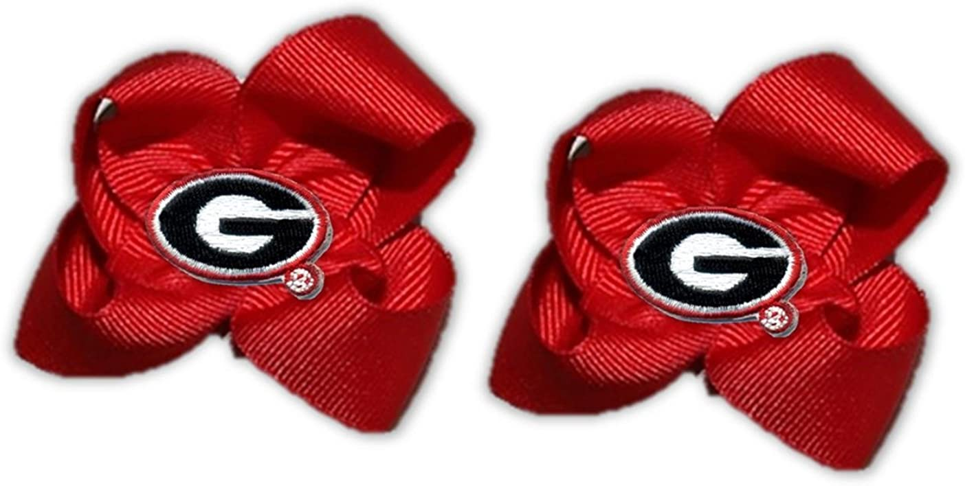 Divine Creations NCAA Toddler Bow Pair