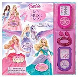 barbie my music storybook and personal music player rd innovative