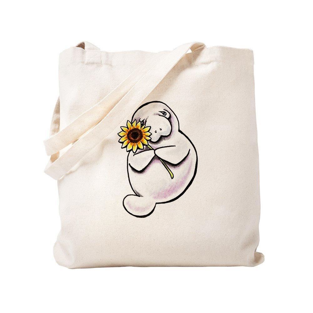 ファッションデザイナー CafePress – Sunny Manateeトートバッグ – Sunny S ナチュラルキャンバストートバッグ、布ショッピングバッグ S – ベージュ 0947939764DECC2 B0773SXQTD S, ナカヤマチョウ:27247ea7 --- classikaplus.ru