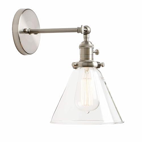 Bathroom Single Light Sconces Amazon Com