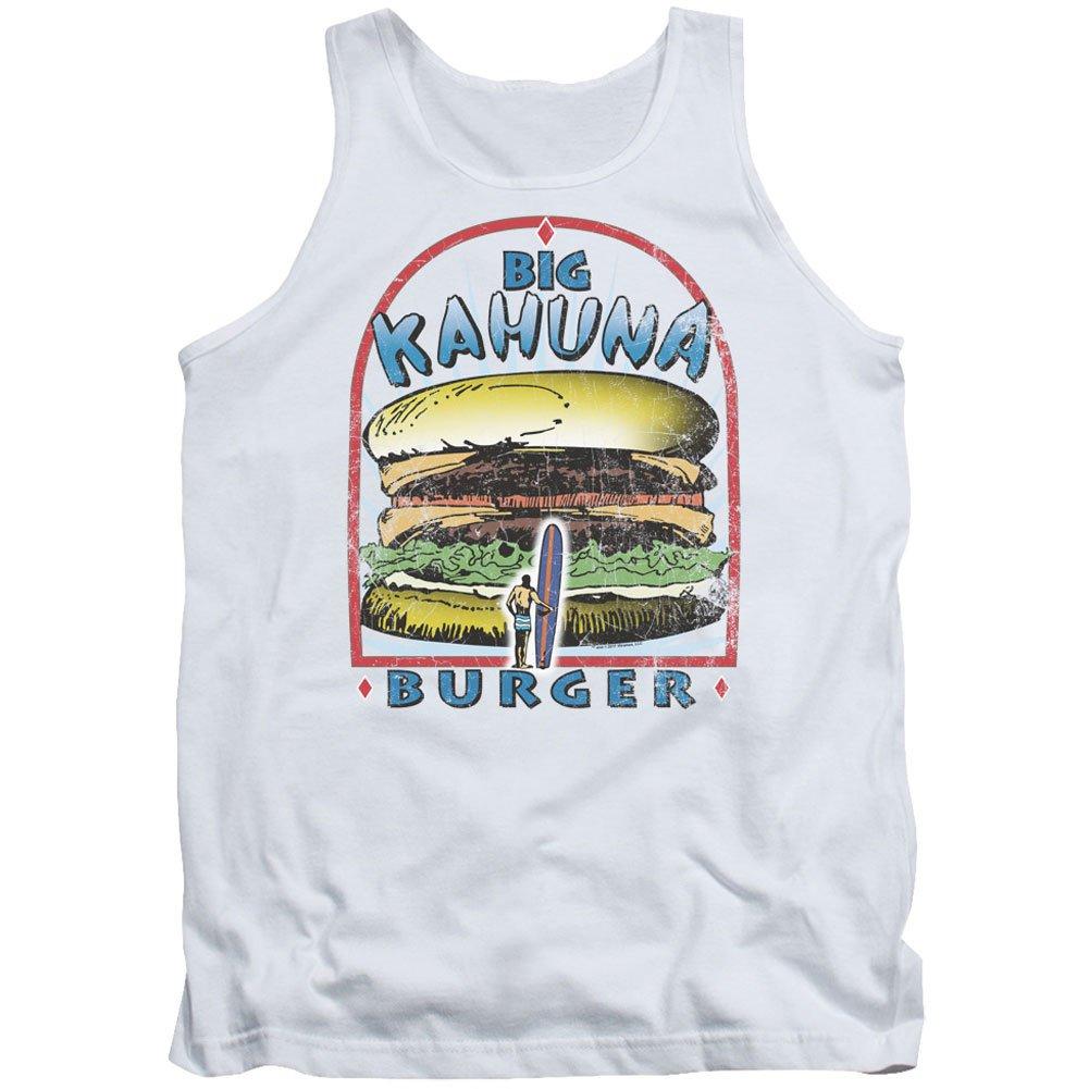 Pulp Fiction Big Kahuna Burger Adult Tank Top White Trevco