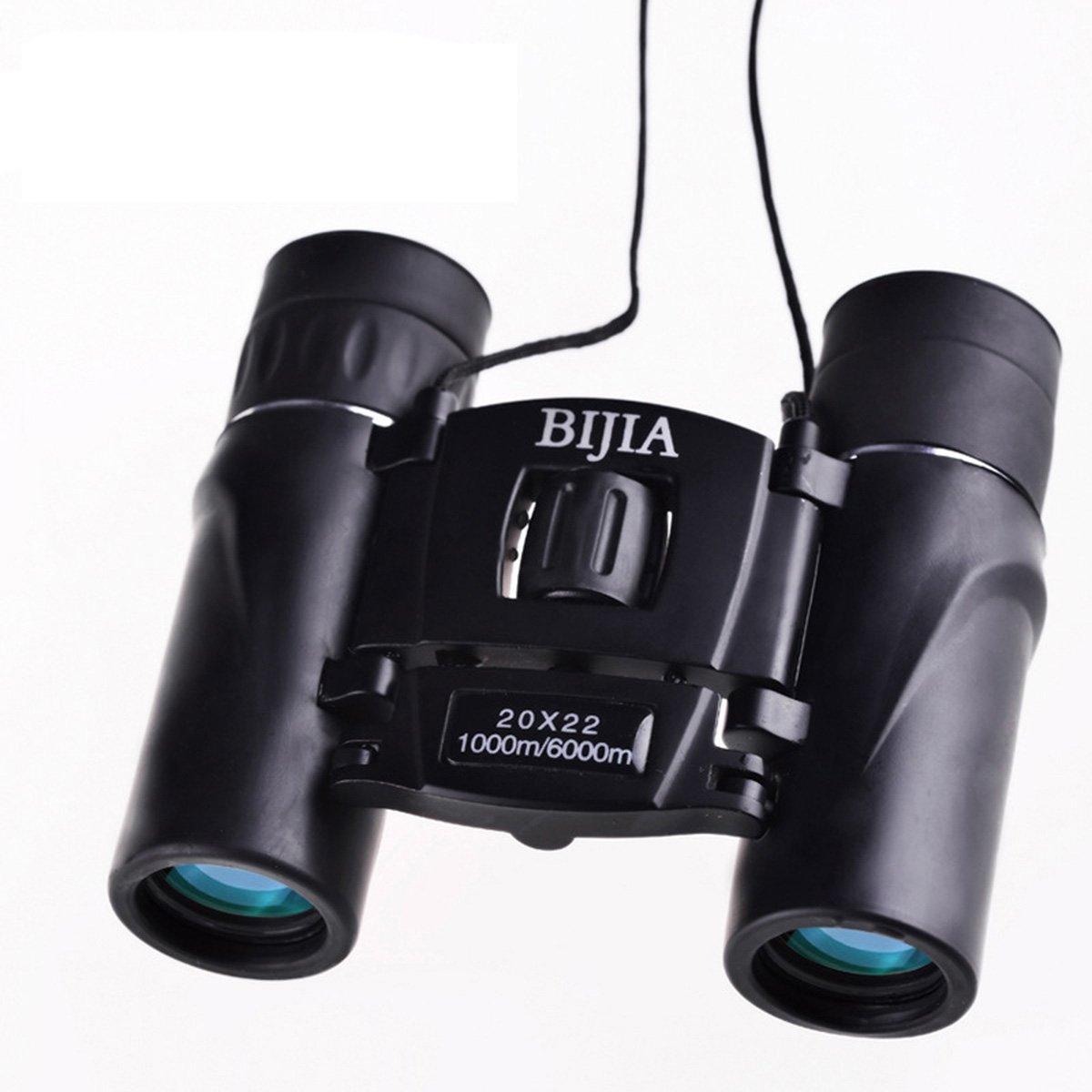 20 x 22 non-infrared高電力高品位ポケット双眼鏡 – ブラック B077K35SJS