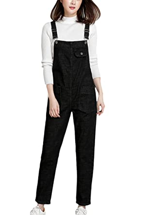 feeadc0b30 Suvotimo Women Casual Bib Overalls Denim Jumpsuits Dungarees Boyfriend Jeans  Plus Size  Amazon.co.uk  Clothing