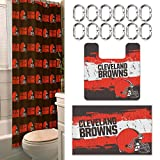 Cleveland Browns 15 Piece Bath Set