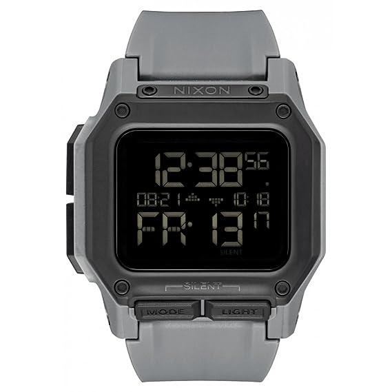 auténtico excepcional gama de colores gran descuento venta Reloj NIXON Regulus All Black A1180632 Hombre Gris
