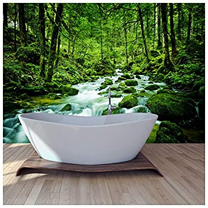 Stream Through Rainforest Rivers Lake Forest Wall Mural Nature Photo Wallpaper Available In 8 Sizes Gigantic Digital
