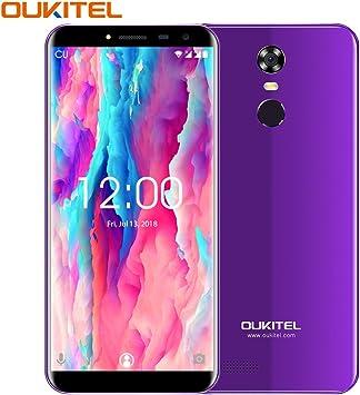 Telefonos Moviles, OUKITEL C8 Movil (3000),Dual SIM 3G Teléfono Móvil Libres, 5.5 Pulgadas 16 ROM 13MP Cámaras 3000mAh Batería Smartphone,Morado: Amazon.es: Electrónica