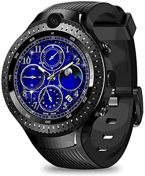 Amazon.com: PQFYDS Zeblaze Thor 4 Dual Smart Watch 4G Dual ...