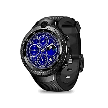 Amazon.com: PQFYDS Zeblaze Thor 4 Dual Smart Watch 4G Dual ...