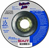 United Abrasives SAIT 22072 Type 27 Saitech Cutting Wheel, 4-1/2-Inch x .045-Inch x 7/8-Inch, 50-Pack