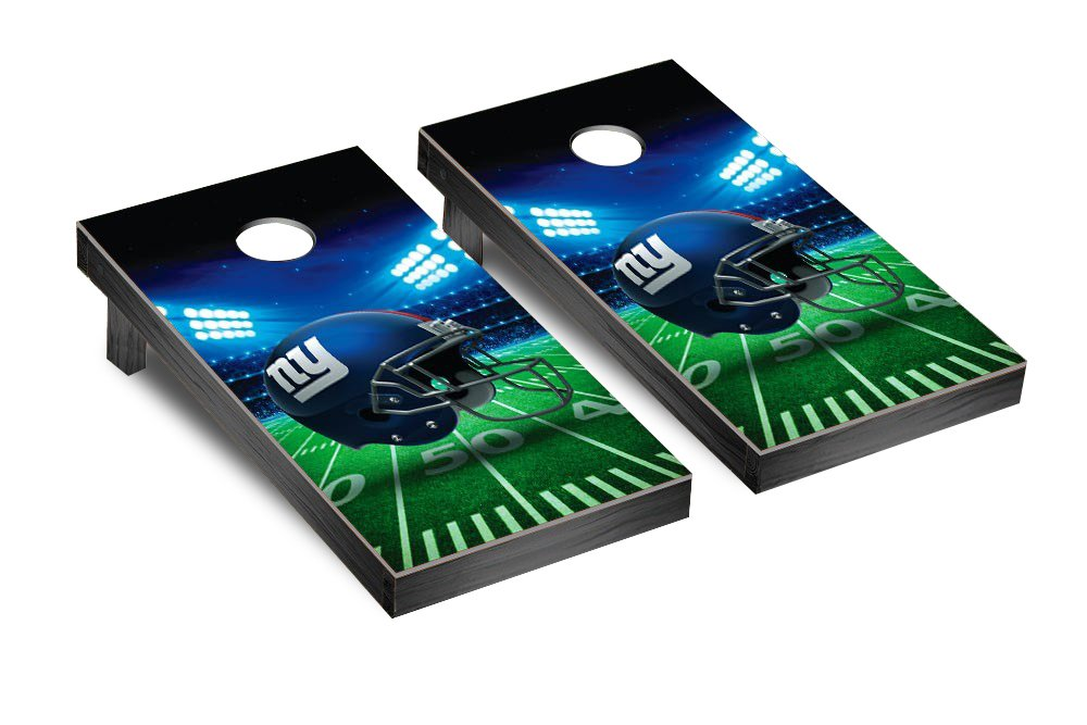 NFL New York Giants Stadium Version Football Corn hole Game Set, One Size