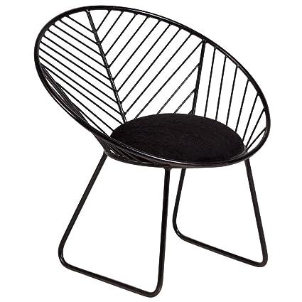 Fabulous Amazon Com Porter Designs 2480I Chevron Accent Chair Black Bralicious Painted Fabric Chair Ideas Braliciousco